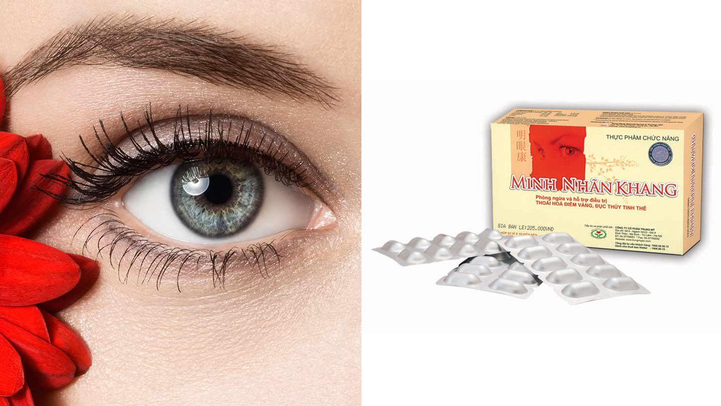 Khô mắt dùng Minh Nhãn Khang có tốt không? Nên dùng kết hợp lối sống để giúp cải thiện thị lực tốt nhất